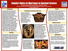 Gender Roles in Marriage in Ancient Greece