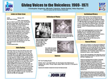 Giving Voices to the Voiceless: 1969-1971