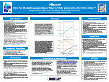 History How has the Latino population of New York City grown since the 19th century?