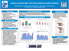 Latinos and the New York City Criminal Justice System