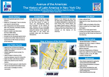Avenue of the Americas: The History of Latin America in New York City