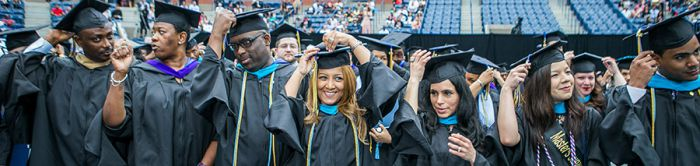 John Jay College student Commencement image