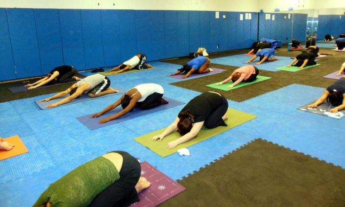 We even have a weekly yoga class!