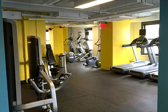 New Yorker housing Gym