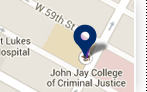 John Jay College Location on map