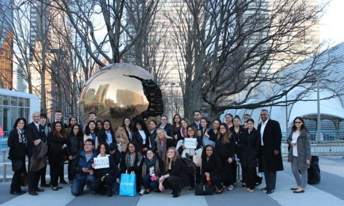 John Jay Faculty and Students Participate in United Nations Commission on the Status of Women