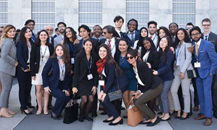 John Jay's Model United Nations Team Reaps Top Awards at 2017 National Model U.N. Conference.