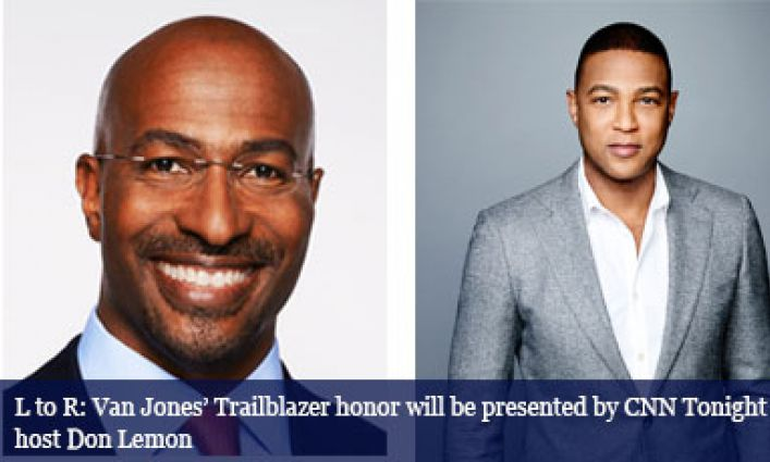 CNN's Van Jones named the 2017 Justice Media Trailblazer by John Jay College of Criminal Justice