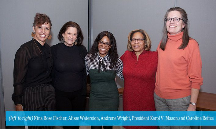 Andrene Wright '17 Showcases Passion for Learning at Abby Stein Memorial Lecture