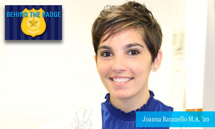 Behind the Badge: Joanna Baranello M.A. '20 NYPD Crime Analyst