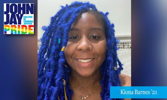 Pride 2021: Kiona Barnes '21 Strives to Make Pride Month An Inclusive Celebration