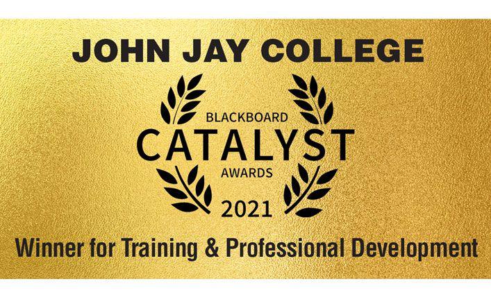 John Jay College Wins Blackboard Catalyst Award