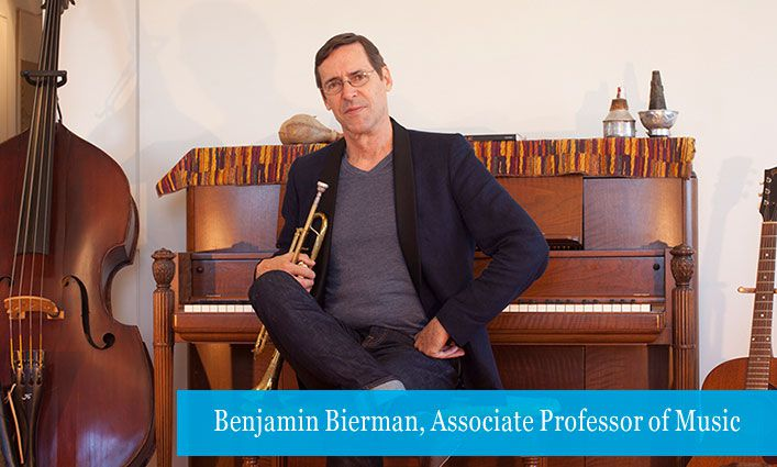 Benjamin Bierman, Ph.D., Associate Professor of Music, Gets a Resounding Signal From His Students That His Online Curriculum Supports Their Success