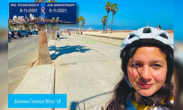 9/11 Stories: Carmen Bitar '18 Retraces Her Steps and Remembers the Confusion and Chaos of Sept. 11th