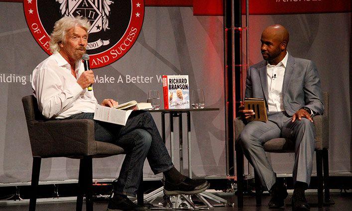 The National Society of Leadership and Success at John Jay Brings Sir Richard Branson to Campus