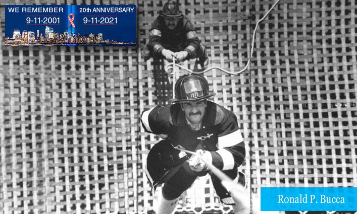 9/11 Stories: Alumnus and FDNY Fire Marshal Ronald P. Bucca Climbed to the 78th Floor of the South Tower and Sacrificed His Life to Save Others