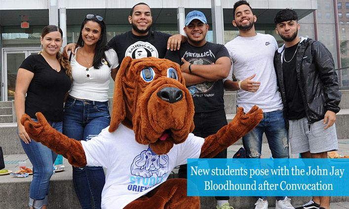 Convocation 2019 Inspires John Jay's Newest Students to Pursue their Dreams