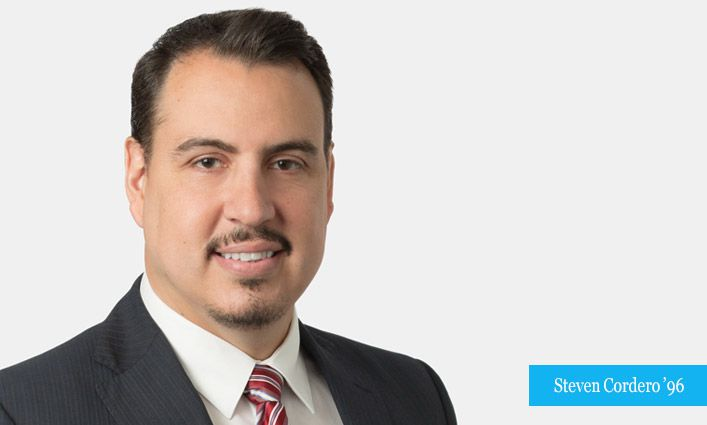 Attorney Steven Cordero '96 Reflects on the Journey that Brought Him to the Law