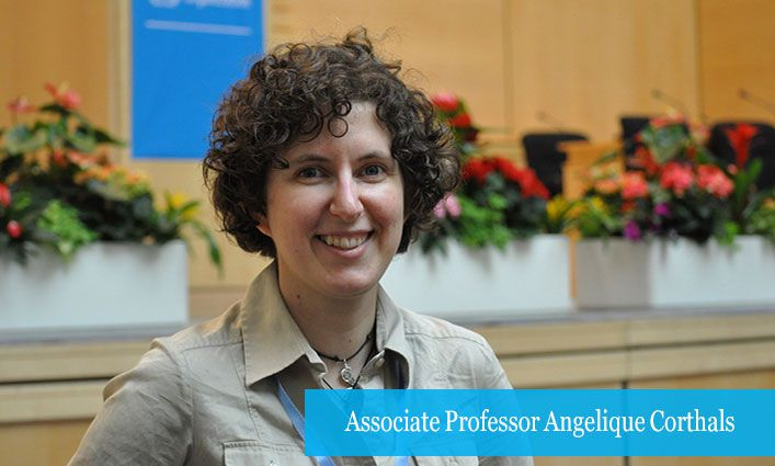 Associate Professor Angelique Corthals Studies Covid-19 in Two Rapid-Response Projects Funded by the National Science Foundation