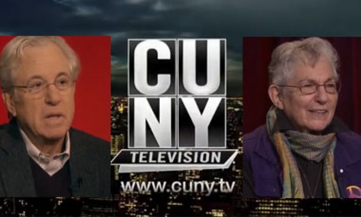Professors Martin Horn and Blanche Wiesen Cook Appear on CUNY TV