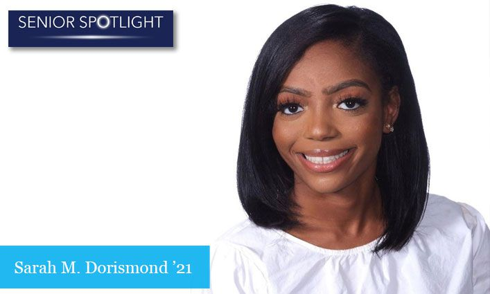 Senior Spotlight: Sarah M. Dorismond '21 Overcomes Homelessness During the Pandemic and Graduates on Time with Help From SEEK