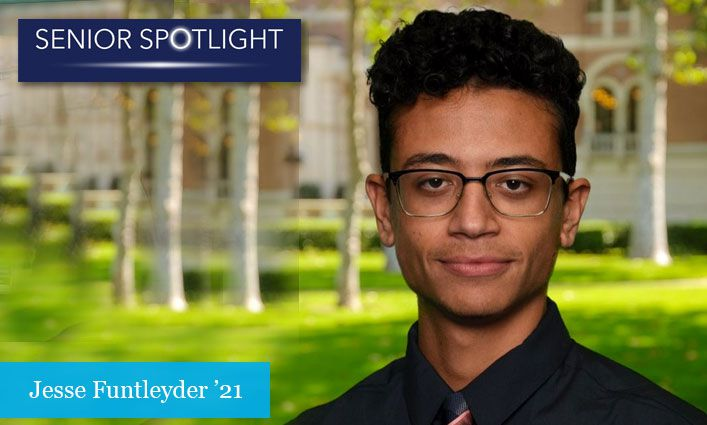 Senior Spotlight: Jesse Funtleyder '21 Aspires to Become a Mental Health Counselor, Helping At-Risk Youth and System-Impacted Individuals