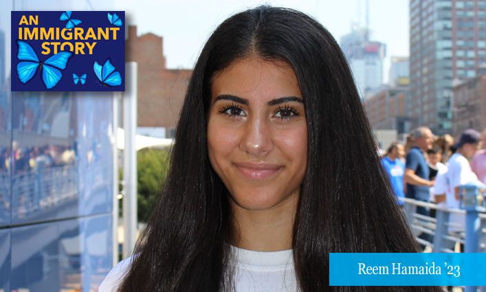 An Immigrant Story: Reem Hamaida '23 Honors Her Father's Sacrifices and Carves Path Toward Law School