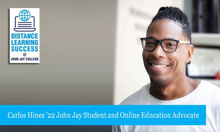 Carlos Hines '22 Shares Effective Ways to Master Distance Learning