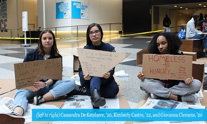 Community Outreach and Service Learning Hosts Events For Homeless Awareness