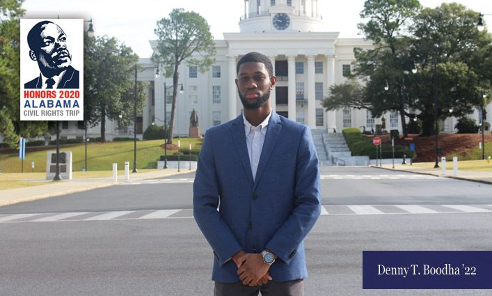 Honors 2020 Alabama Civil Rights Trip: An Introspective Essay From Denny T. Boodha '22