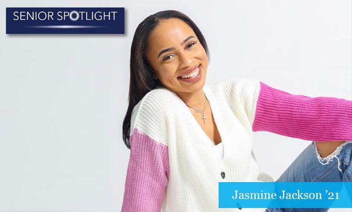 Senior Spotlight: Jasmine Jackson '21 Reaches Her Grad School Dreams with the Help of the CUSP Program