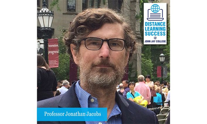 Professor Jonathan Jacobs, Winner of the Isaac Manasseh Meyer Fellowship and Franklin Research Grant, Shifts His Focus While Staying Home