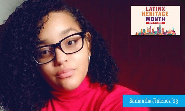 Latinx Celebration: Samantha Jimenez '23 Finds Pride in Her Dominican Identity