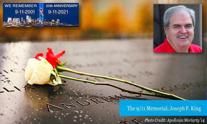 9/11 Stories: Former Associate Professor Joseph F. King Recalls the Incredible Loss of Life on Morning of Attacks