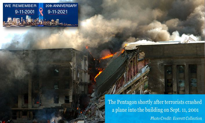 9/11 Stories: Alumnus Robert J. Louden '77 Shares His Son's Heroic 9/11 Pentagon Experience