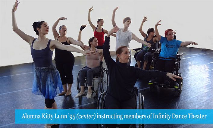 Celebrating the 30th Anniversary of the Americans with Disabilities Act Through the Incredible Journey of Alumna Kitty Lunn '95
