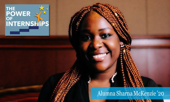 The Power of Internships: Alumna Sharna McKenzie '20 Paves Her Road to Law School by Interning with an Assemblywoman and Two New York Supreme Court Justices
