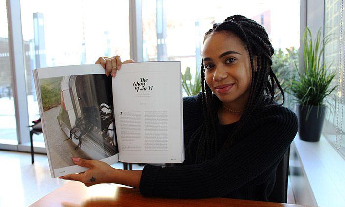 John Jay Student Miranda Barnes is Breaking Into the Art World With Her Astounding Photography