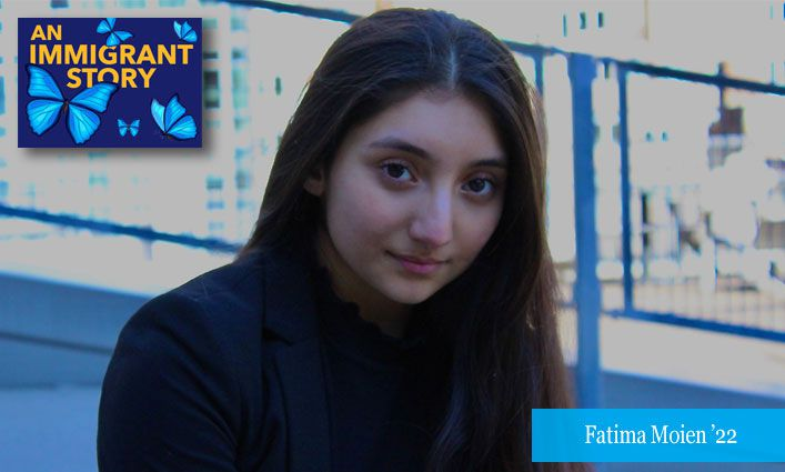 An Immigrant Story: Fatima Moien '22 Feels Seen, Accepted, and Empowered by John Jay's ¡Adelante! Program