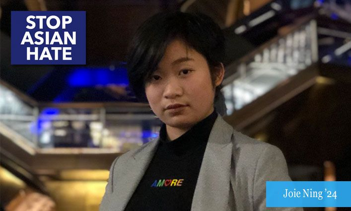 Stop Asian Hate: Joie Ning '24 Advocates for Unity Against Acts of Racism