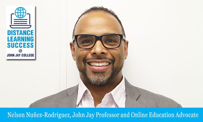 Professor Nelson Nuñez-Rodriguez Brings the Classroom Environment to Distance Learning
