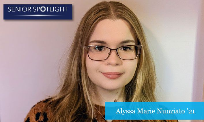 Senior Spotlight: Valedictorian Alyssa Marie Nunziato '21 Dreams of Becoming A CPA and Stopping White-Collar Criminals