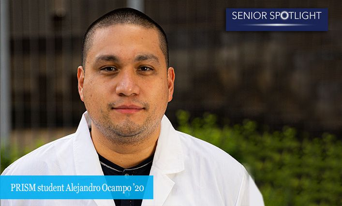 Senior Spotlight: Alejandro Ocampo '20 Credits PRISM with Changing the Course of His Life