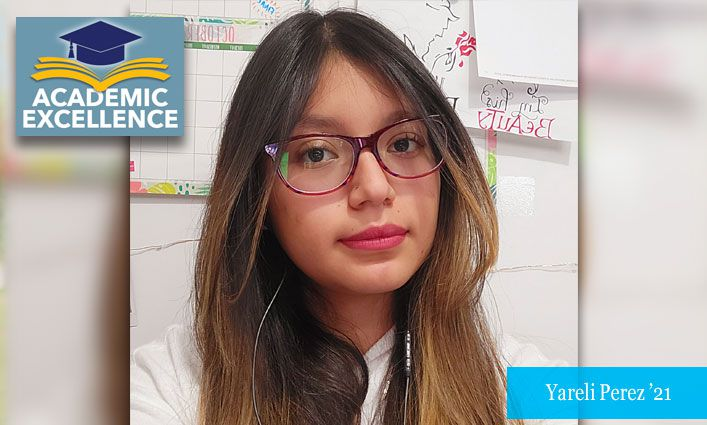 Academic Excellence: McNair Scholar Yareli Perez '21 Dives into Psychological Research on Her Journey to Grad School