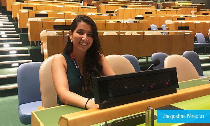 Jacqueline Pérez '21 Aspires to Advance the Dominican Republic's Criminal Justice System