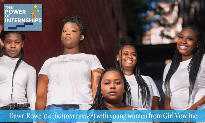 The Power of Internships: A Juvenile Justice Internship Set Dawn Rowe '04 on a Path to Uplift System-Impacted Girls