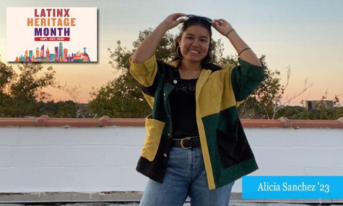 Latinx Celebration: Alicia Sanchez '23  Takes Pride in Her Mexican and Ecuadorian Ancestry