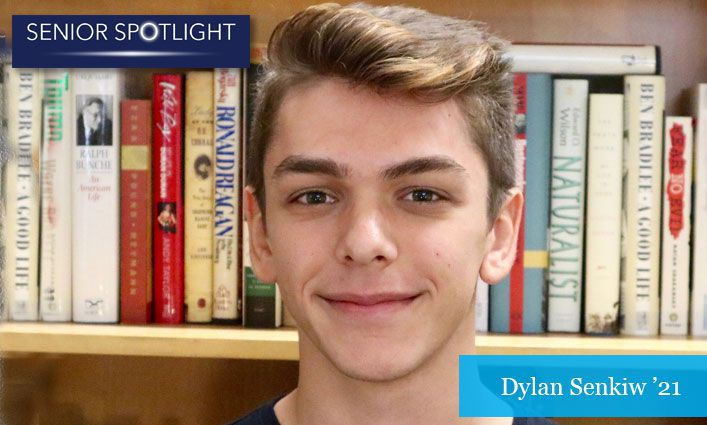 Senior Spotlight: Dylan Senkiw '21 Gets Accepted into Four Master's Programs to Pursue a Public Policy Career