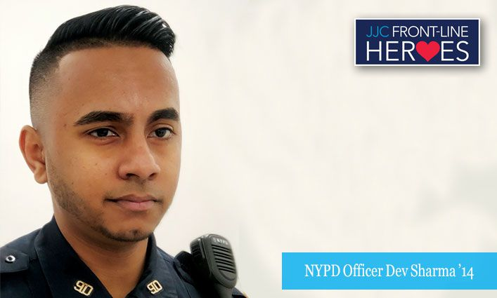 Front-Line Heroes: NYPD Officer Dev Sharma '14 Keeping Brooklyn Safe
