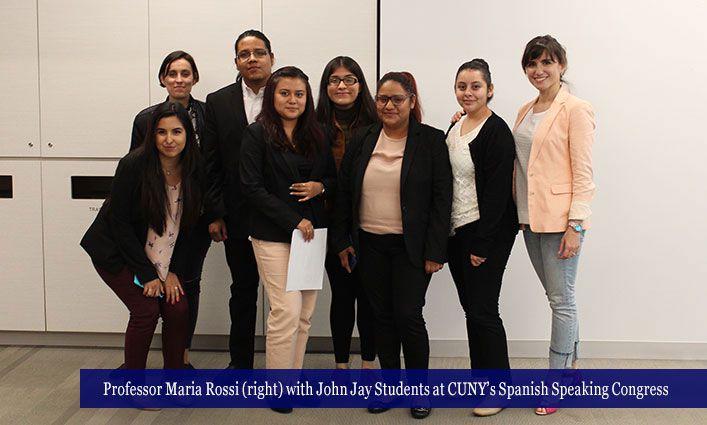 John Jay Students Parlay the CUNY Spanish Students' Congress Into A Scholarship Win